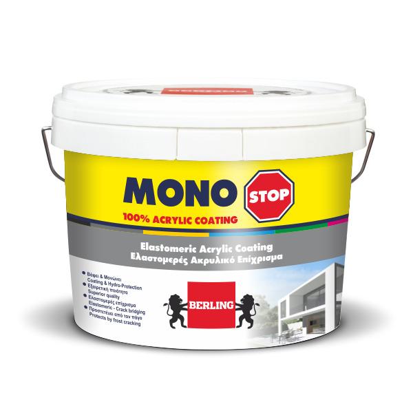 MONOSTOP 0,75lt Ακρυλικό χρώμα