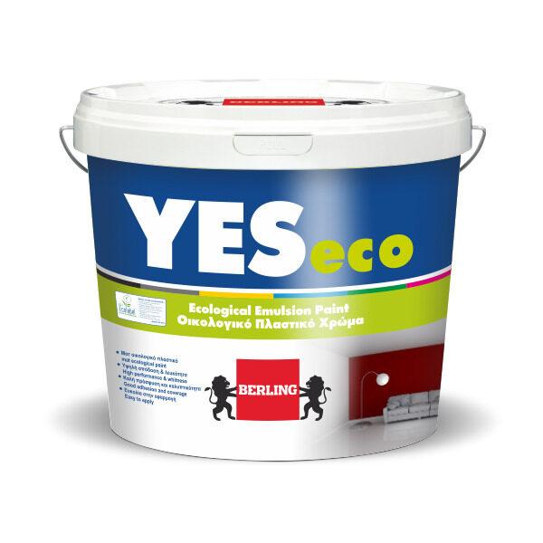 Yes Eco 3lt Πλαστικό Ματ Χρώμα