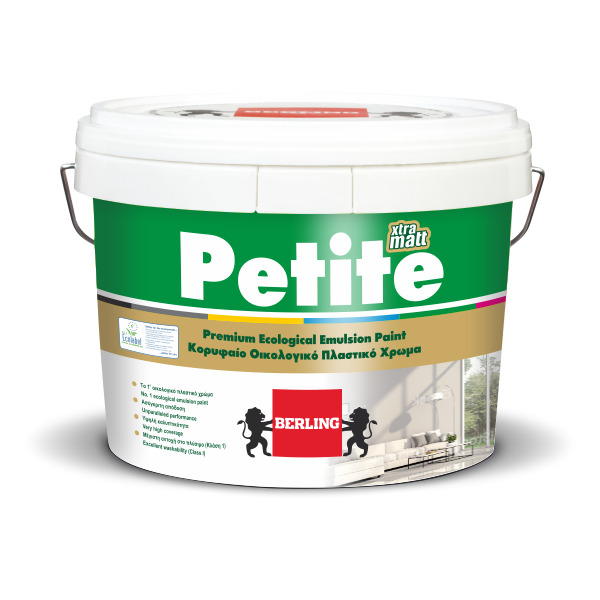 PETITE Matt 10lt Πλαστικό Ματ Χρώμα