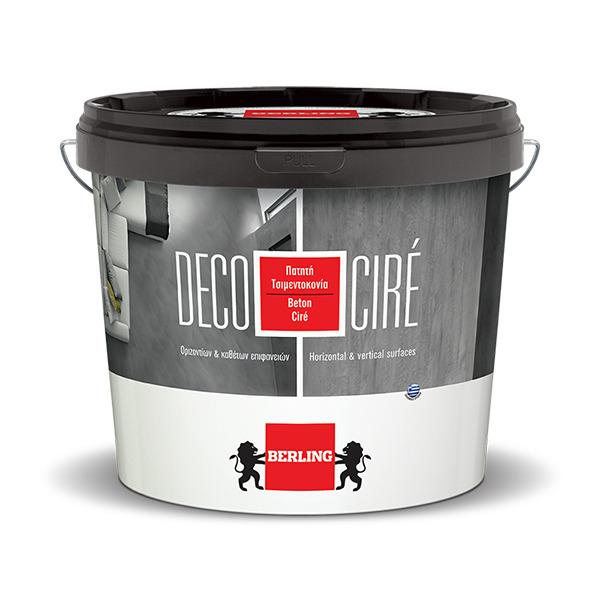 DECO CIRE Πατητή Τσιμεντοκονία 15kg