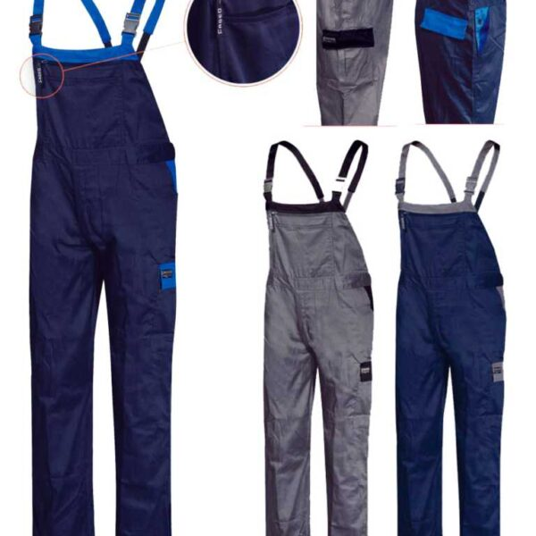 FAGEO 046 Φόρμα Εργασίας Ρουά Μπλε-Σκούρο Μπλε
