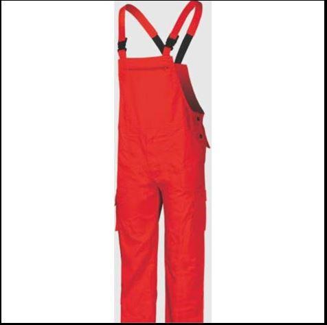 FAGEO 505 Φόρμα Εργασίας Κόκκινο
