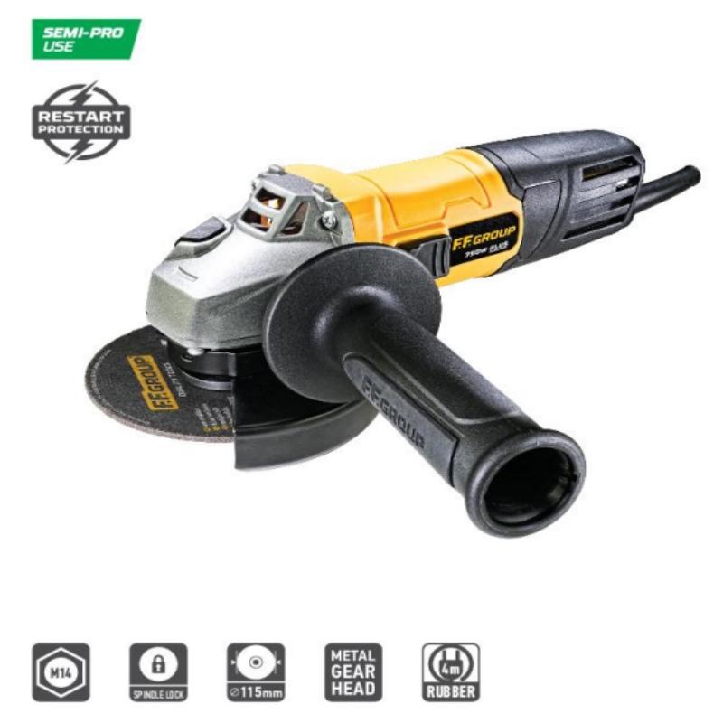 Γωνιακός τροχός FFGROUP 41628 AG 115/750 PLUS