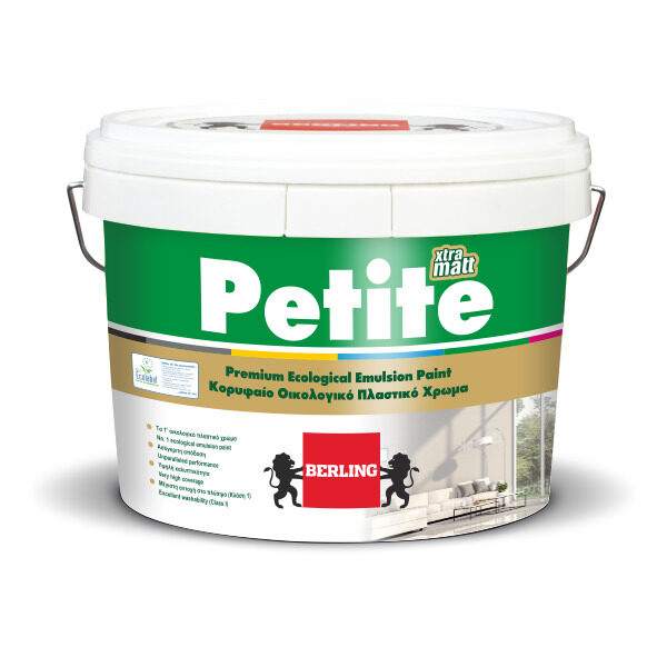 PETITE Matt 0.75lt Πλαστικό Ματ Χρώμα