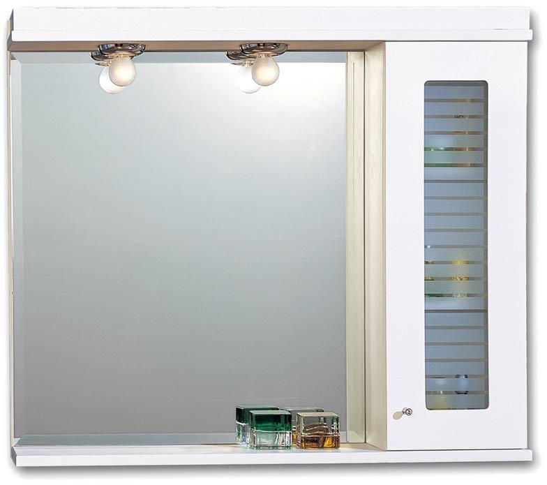 Pro Bagno 293A Καθρέπτης Μπάνιου Με Ένα Ντουλαπάκι
