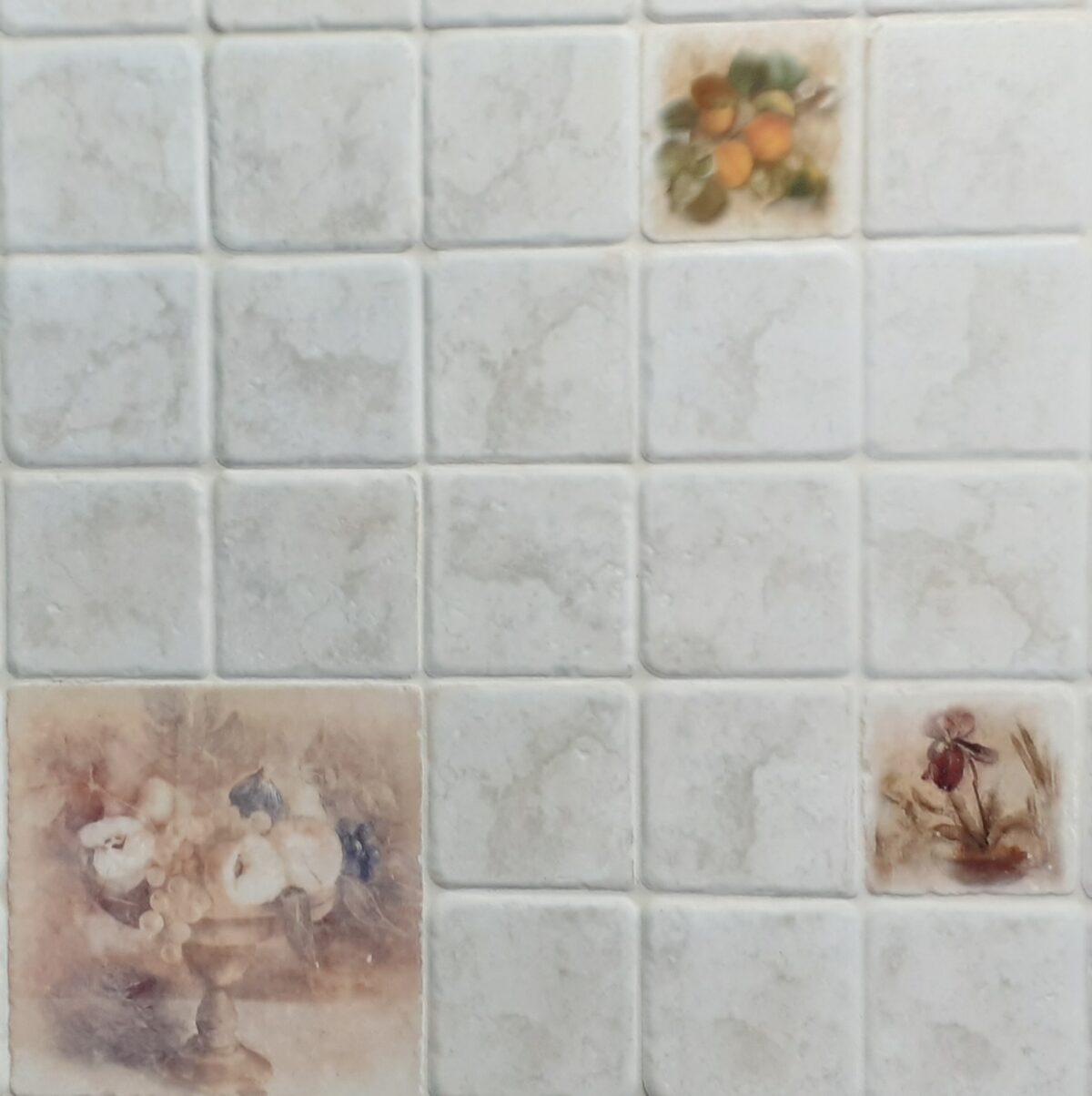 Πλακάκι Κουζίνας DECOR Λουλούδι